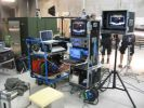 8-cam video cart on set